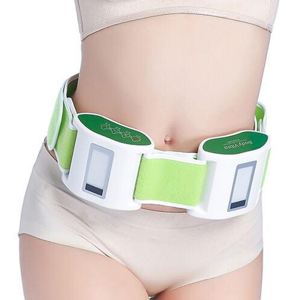 Electric Slimming Belt Massager Vibrating Weight Loss Massager Waist/ Belly/Leg/Arm Fat Burning Muscle Exercise Body sculpting Y181122