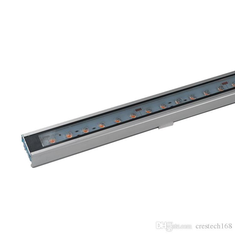 LED SMD5050 lampada Bead DMX512 RGB LED Wall Washer DMX inondazione del proiettore Garden Street Paesaggio Spotlight Bulb