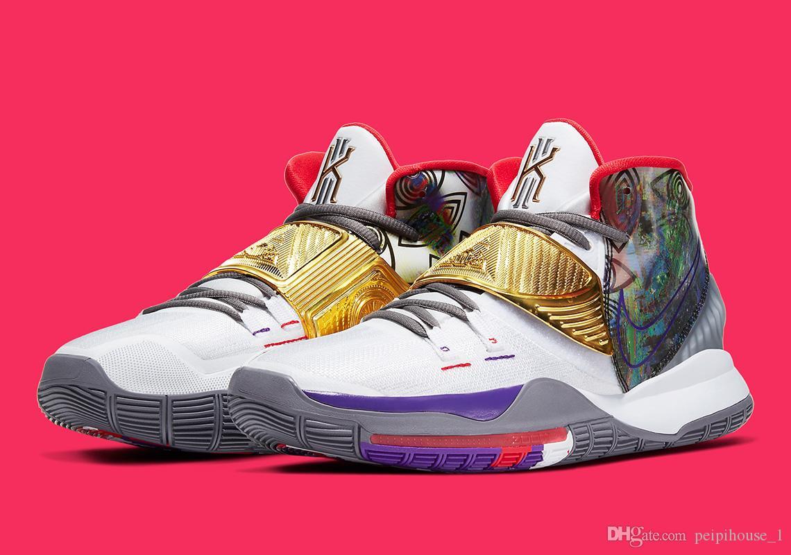 Kids Kyrie 6 Houston Basketball Shoes