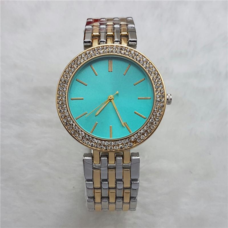 뜨거운 판매 캐주얼 여성 시계 Unisex 쿼츠 시계 여성 아날로그 손목 시계 Stianless 스틸 시계 선물을위한
