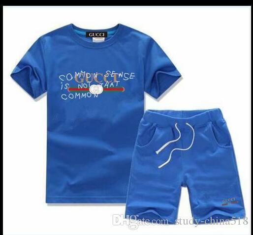 Juegos infantiles 2-7T Camisetas y pantalones cortos para niños Pantalones Chándales para niños