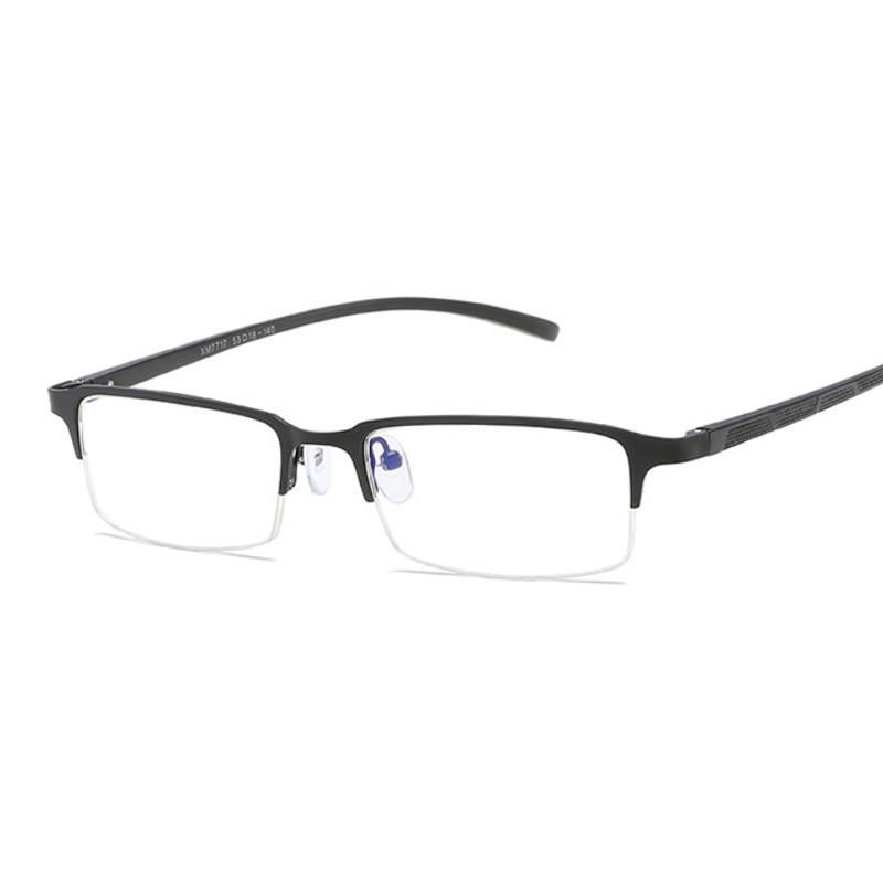 Lucha contra el Blu-ray ordenador proteger a los hombres comerciales de los vidrios ópticos de aluminio y magnesio manera marcos marco de las lentes de la miopía: Hombre