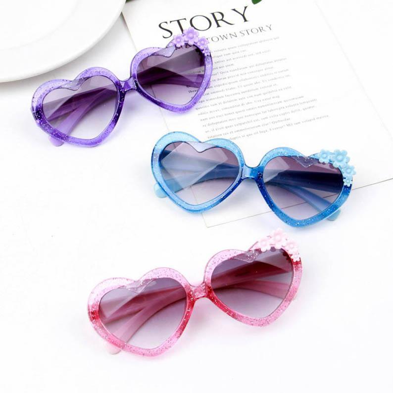 Amore per bambini occhiali da sole Occhiali da sole B299 Occhiali da sole Flower Girls Fashion Ultraviolet-By Baby Boys 2021 Glasses New Kids Eibul
