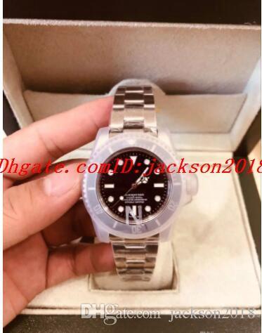 럭셔리 시계 베스트 셀러 N00B V7 40mm 116610LN 116610 최고 품질 블랙 세라믹 2813 무브먼트 자동 글라이드 워드 망 방수