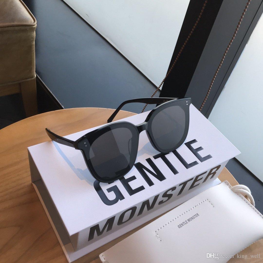 2020 nuovo arrivo Occhiali da sole rotondi Retro uomini donne delicato disegno di marca occhiali da sole vintage Coating specchio UV400 Myma