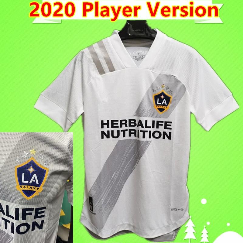 Player версии 2020 2021 новый Лос-Анджелес Гэлакси футбол кофта Лос-Анджелес Гэлакси Альварес АЛЬТУНА LLETGET STERES полента футбольные футболки 20/21 белый