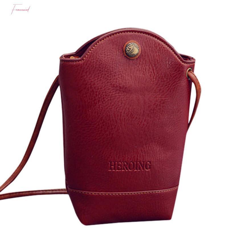 Сумки Женщины Сумка Сумки Тонкий Crossbody сумки на ремне сумки Малые тела для телефона 1.Apr.9