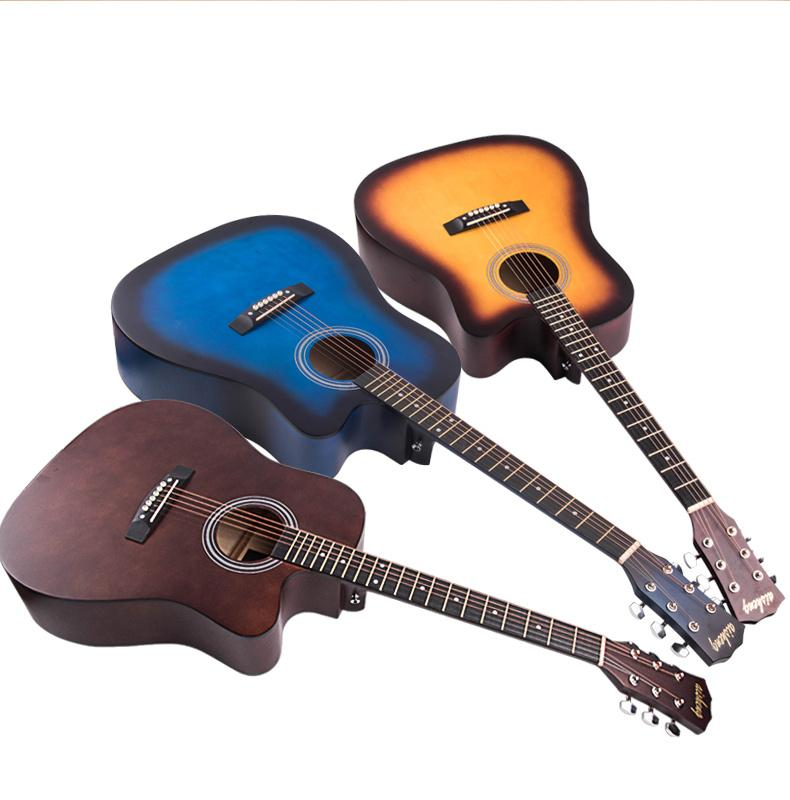 1Outdoor Tool Water Bagsolid body electric guitar Custom shop Les Map panel transparent brown Paul Electric Guitar Strings