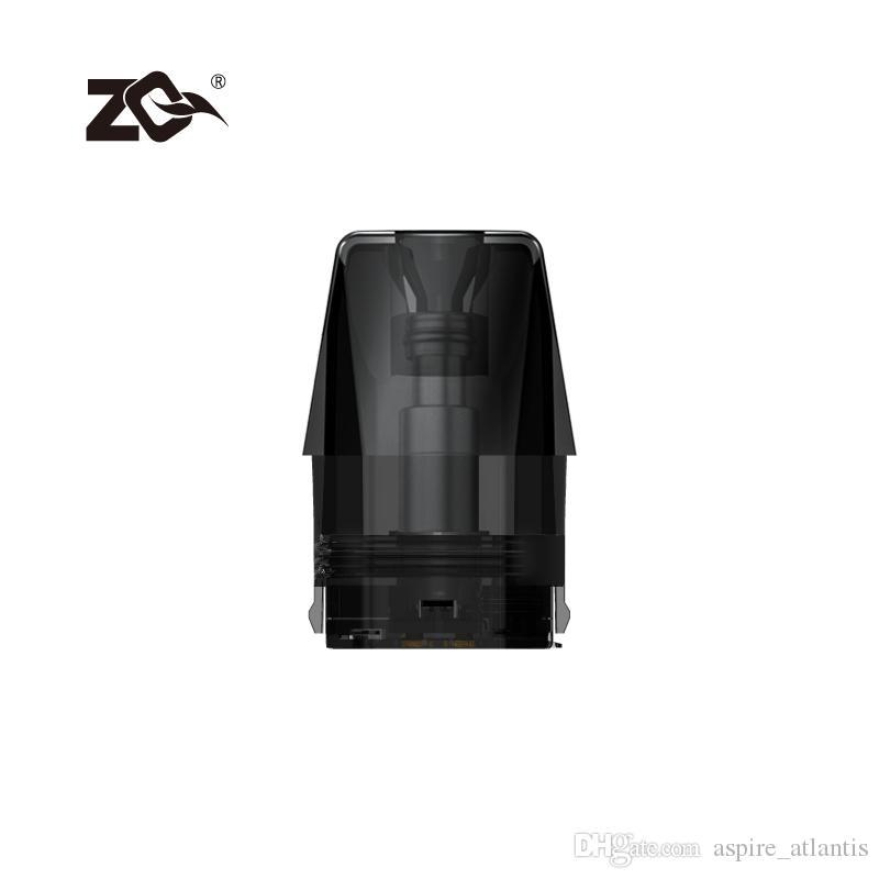 2020 Nova Chegada ZQ Xtal pod 1.2 ohm coil 1.8 ml vem com 4 peças pacote para transporte gratuito