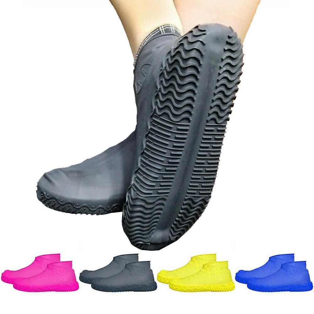 Covers Accessories Slip-resistant Latex Rain Shoes Boot  Overshoes Rubber