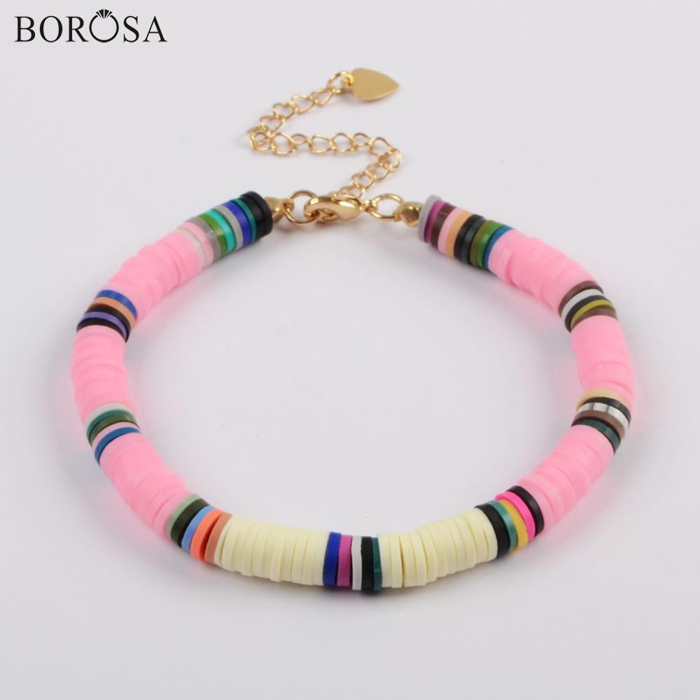 Polymerclay bracelet Fimo bracelet Unique bracelet Handmade bracelet Boho bracelet Fimo beads Colorful bracelet Bohemian bracelet Handmade