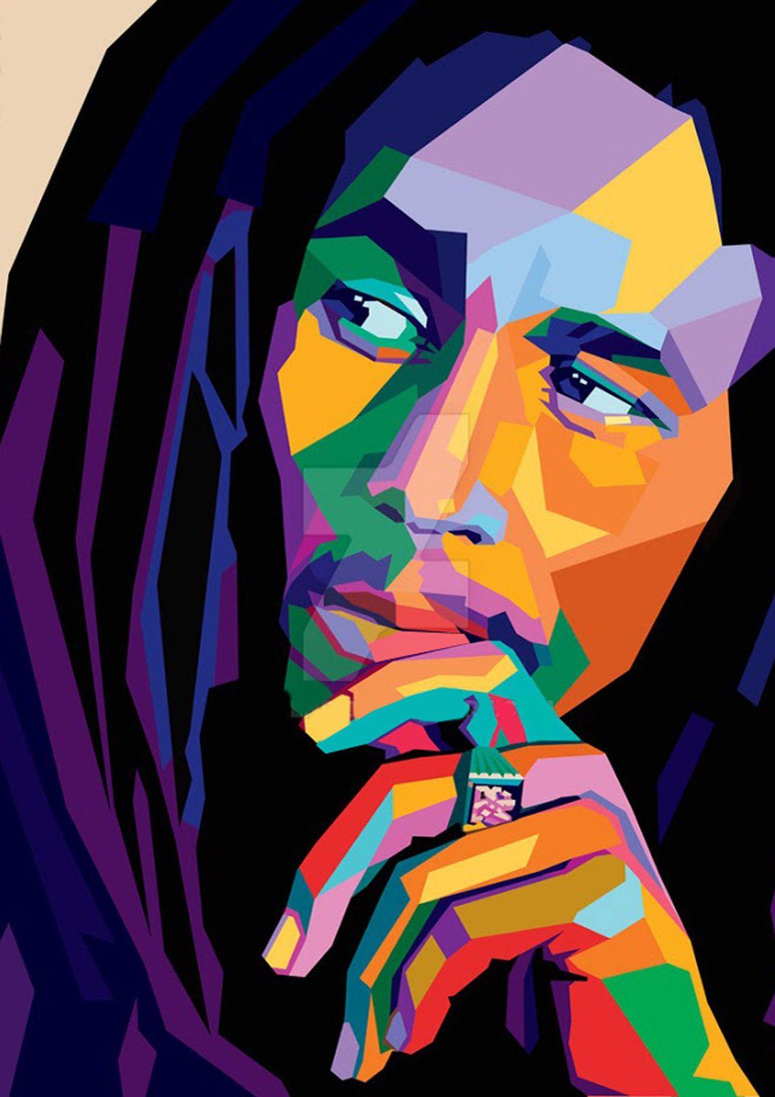 Bob Marley  Print  Poster