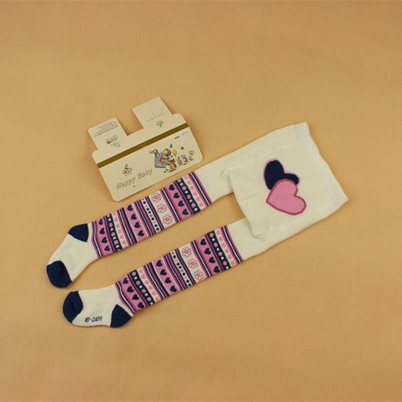 bebé primavera / otoño medias de algodón de la niña de pantimedias infante ropa infantil de punto Collant Medias suave