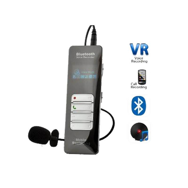 تسجيل المكالمات حر بلوتوث اللاسلكية صوتي رقمي دعم تسجيل الهاتف وكلمة المرور حماية وظيفة البناء في 8GB / 16GB الذاكرة