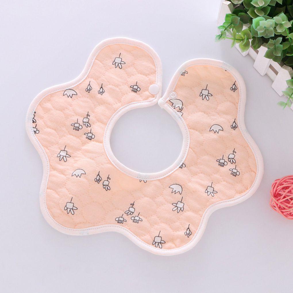 Pamuk Su geçirmez Sevimli Taze Bebek Beslenme Mini Apron Besleme Bebek Önlükler Tükürük Havlu Petals Bebek