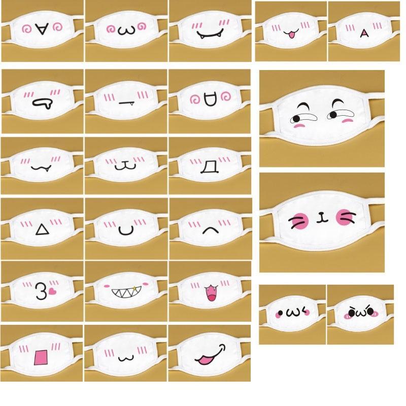 Máscara New Cotton Dustproof Boca Rosto Anime Sorte dos desenhos animados Urso Mulheres Homens Muffle face Boca Máscaras DHLSHIP WXHH9-2982