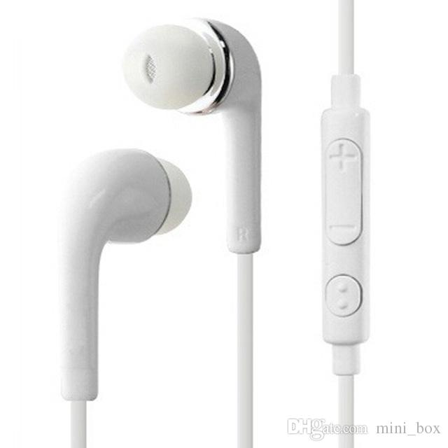 J5 EG900 سماعة 3.5 ملم في الأذن سماعات الميكروفون سماعات لهواوي Xiaomi Samsung S6 S7 S8 S9