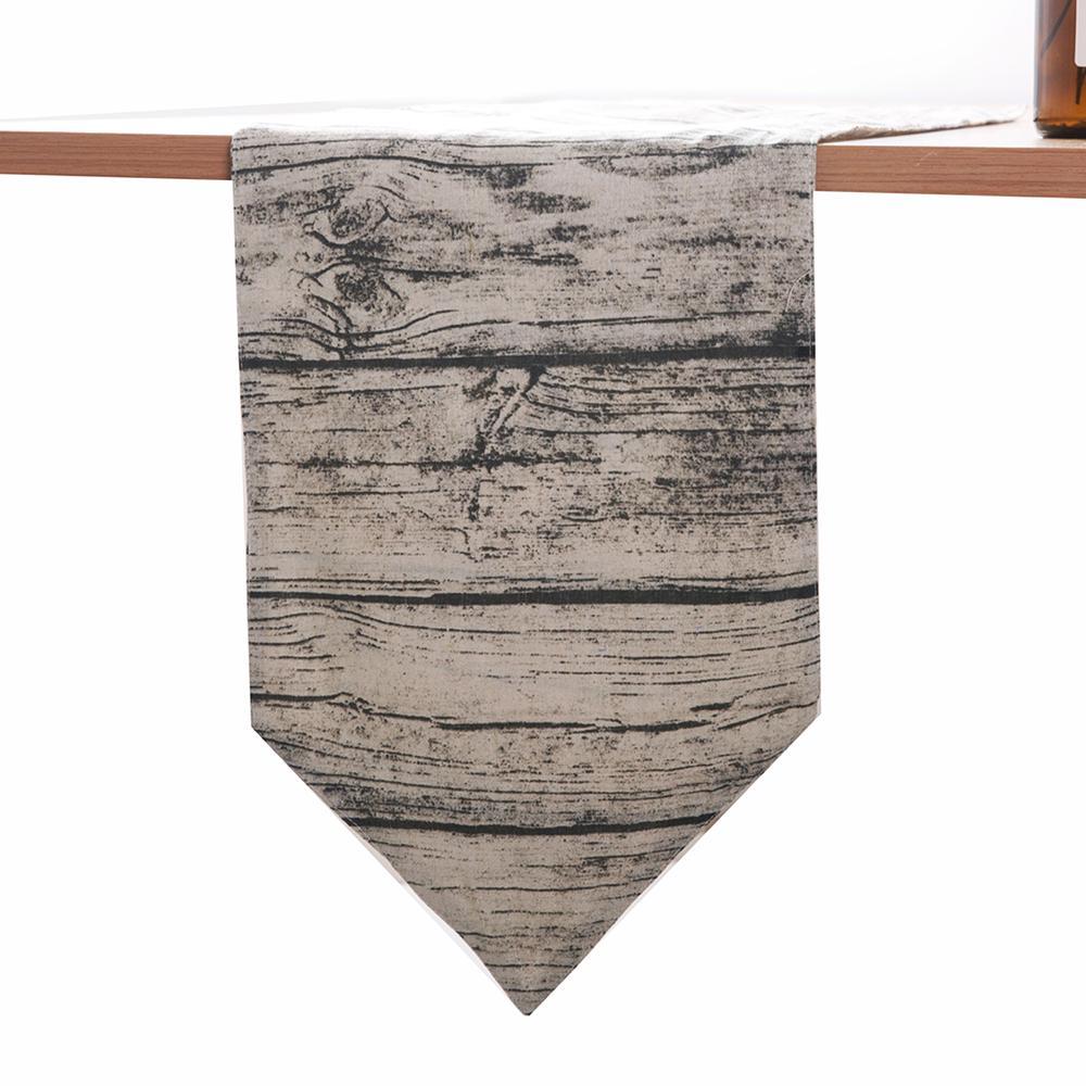1 pz 30x180 cm Llight Grrey Stripe Runner Tavolo Copertura per TV Cabinet Copertura Asciugamano Wedding Festival Partito Decor fornitura
