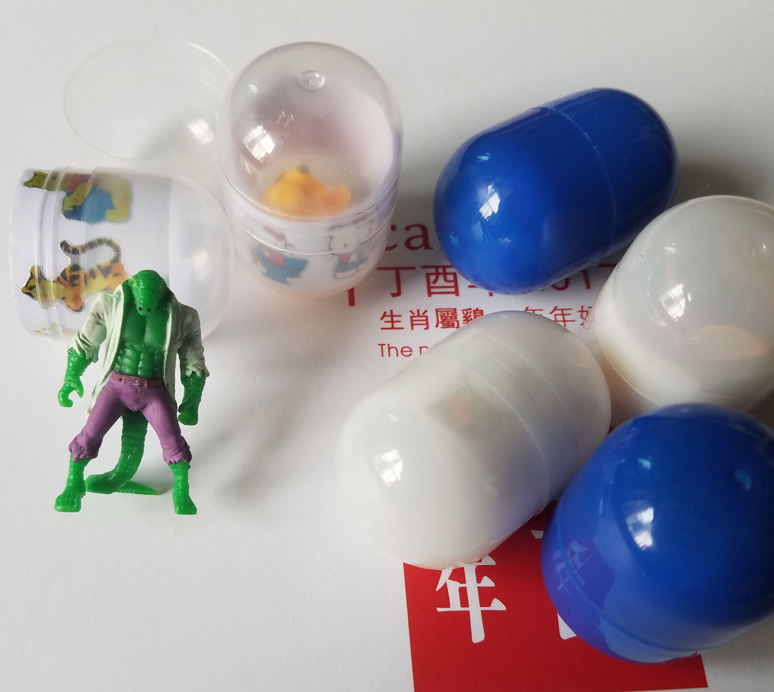Бесплатная доставка 3,2 * 4.7cm капсулы игрушки фигурку подарок промотирования мини-игрушки животных украшения для детей смешивать элементы