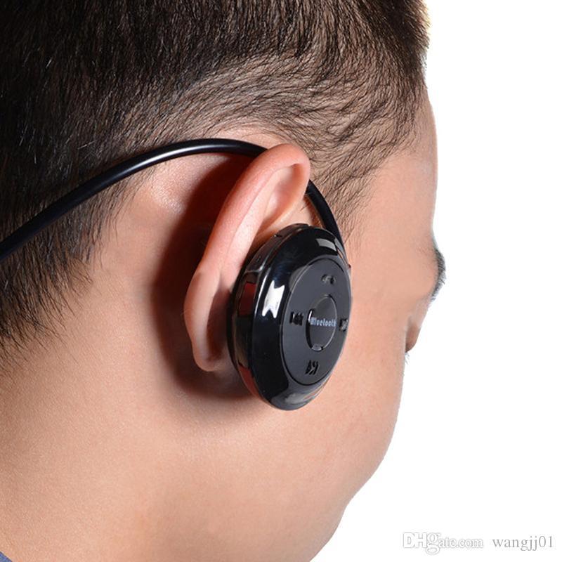 Fone de ouvido sem fio de fone de ouvido bluetooth mini fone de ouvido com fone de ouvido de esporte de microfone cartão tf para xiaomi para música estéreo sony