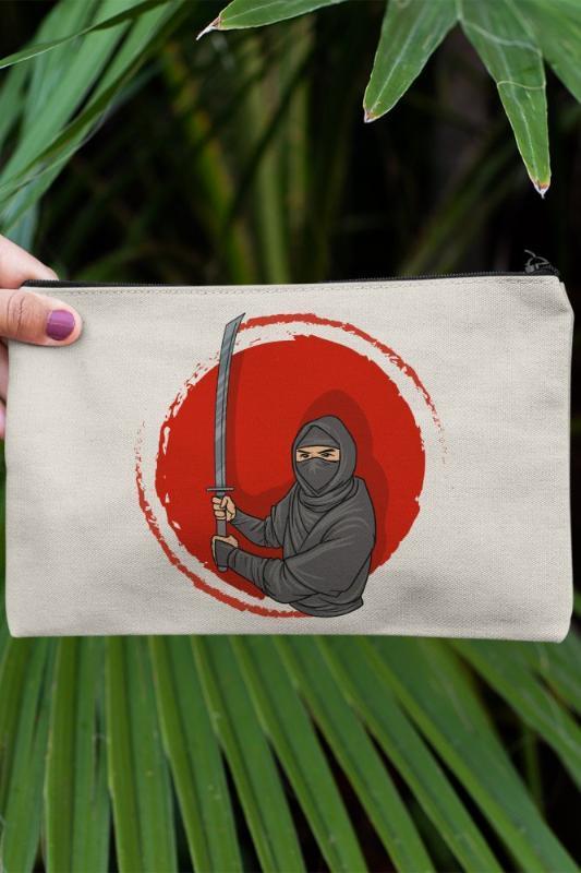 Maquiagem Mão Angemiel Clutch Katana Segurar Ninja Portfolio Bag