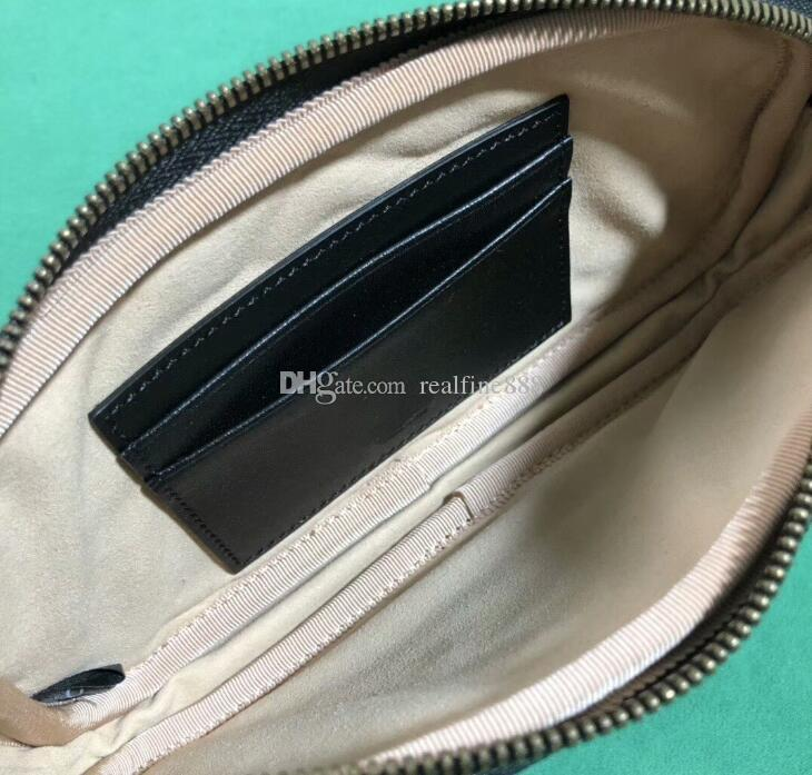 Tasche, mit 5A freien Schulter Mini Realfine888 Matelasse 19cm 598596 Marmont Bag, DHL Must Leder Versand HDIIU