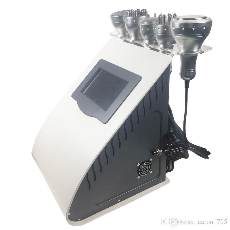 7 1 초음파 cavitation 진공 라디오 주파수 cryo 슬리밍 기계 RF 차가운 망치 피부 살롱 미용 장비 강화