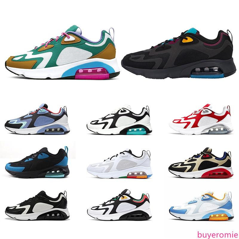 200 Designer Men Women Running Shoes Chaussures Bordeaux 200s Platform Mystic Green South Beach University Red Mens Trainers Sneakers 36-45