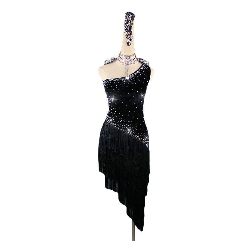 Ballroom Women/'s Lady/'s Latin Tango Salsa Samba Competition Dance Dress
