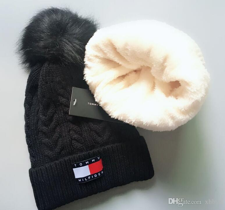 Hot New Boa Qualidade Marcas de Luxo V Outono Inverno Unisex chapéu de lã moda casual carta chapéus Para mulheres Dos Homens designer cap 1688