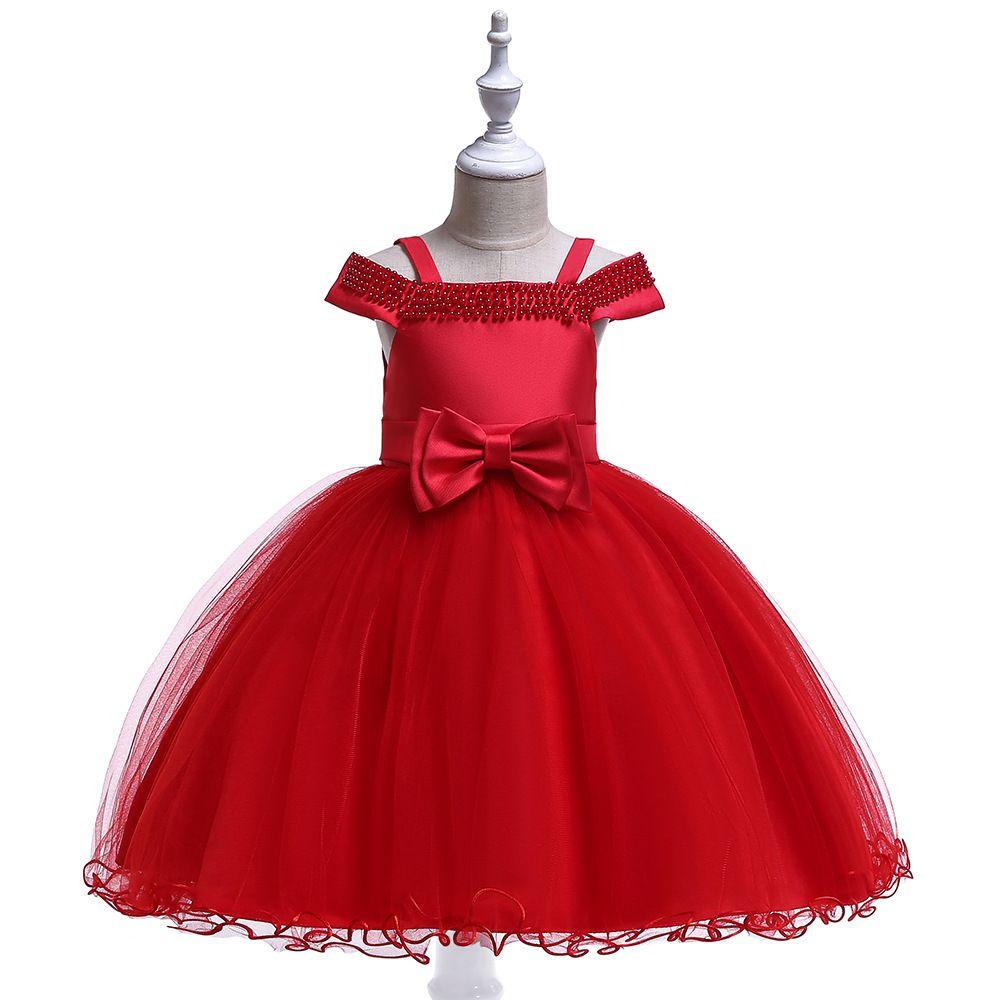 Compre Niñas Vestido De Niña De Las Flores Formal 3 8 Años Floral Vestidos Para Niñas Bebés Vestidos Es Banquete De Boda Ropa Para Niños Ropa De
