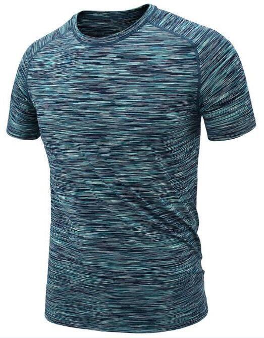 2019 мужской одежда плотно работает с короткими рукавами быстросохнущей футболки 315