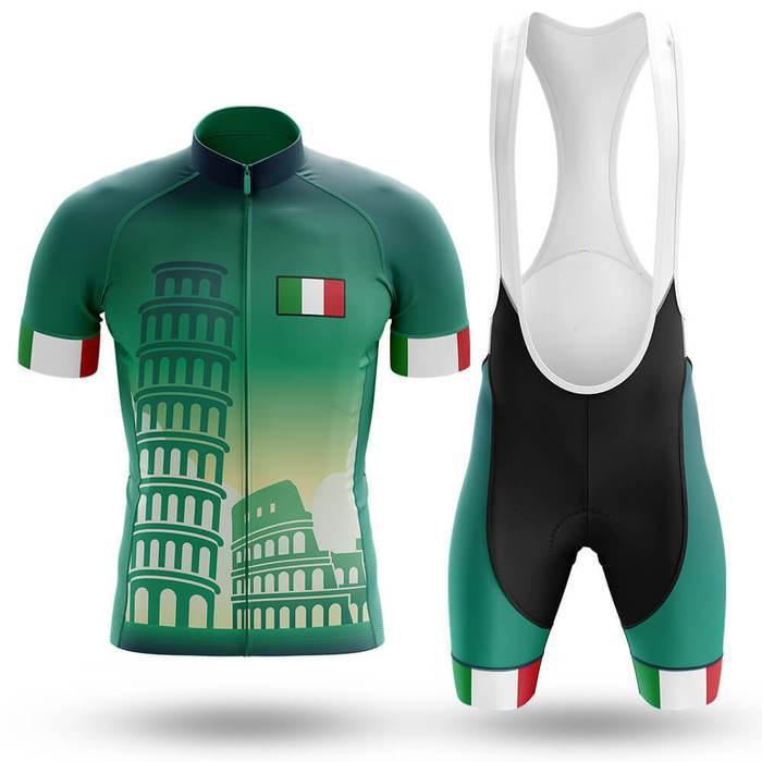 Marque Maillot manches courtes équipe de cyclisme d'été VTT Homme Vélo Vêtements Shirt Ropa Ciclismo Maillot Italia 2020