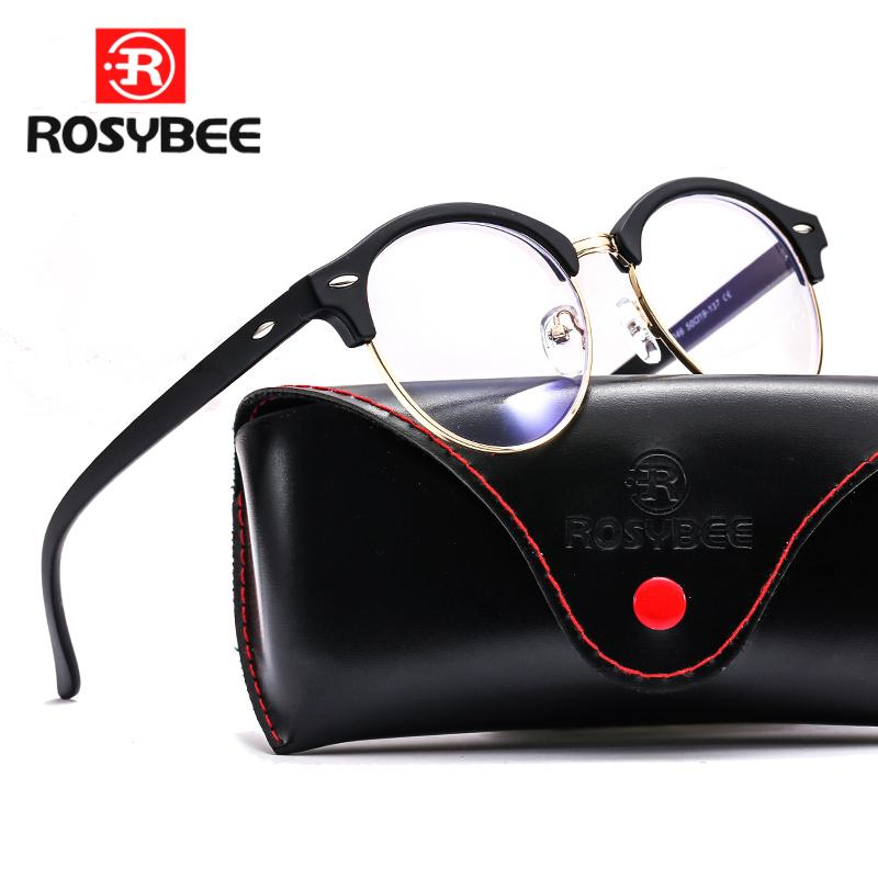 Anti Blue Light Reading Glasses High Quality glass Frames Women men Trend Style Brand Optical computer glasses with original box