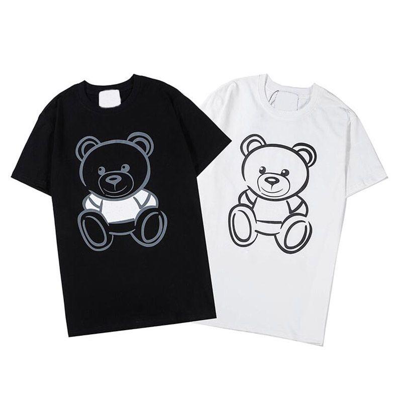 Summer Mens Design T Shirt Design Casual Short Sleeves Fashion Animal Print Men Women Hip Hop Tees Tops