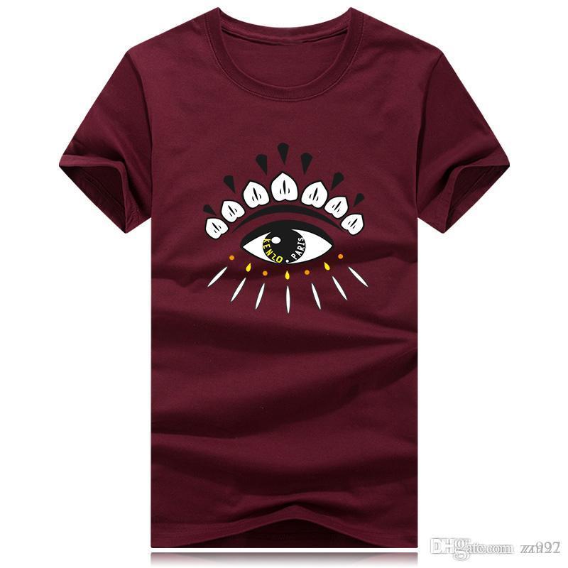 Commercio all'ingrosso stilisti dell'arcobaleno di disegno di stampa delle magliette camicie di marca Mens G delle donne in cotone manica corta Homens traspirante Womans top Tee