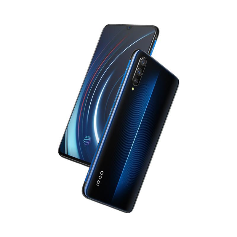 """Оригинал прижизненного IQOO LTE сотового телефона 4G с 8 ГБ оперативной памяти 128 ГБ 256 ГБ ПЗУ, процессор Snapdragon 855 восьмиядерный Android-6.41"""" AMOLED дисплей, 13-мегапиксельная идентификатор отпечатков пальцев мобильный телефон"""
