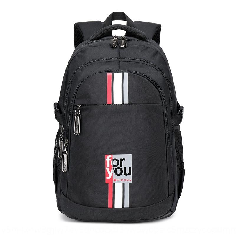 tendenza moda zaino scuola media studentsbackpack maschile FeQks Schoolbag stile coreano seni Senior High School di capacità studentslarge