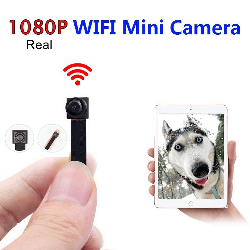 كاميرا صغيرة واي فاي كاملة HD 1080P كاميرا DIY P2P كشف الحركة فيديو IP الأمن التحكم عن بعد DV