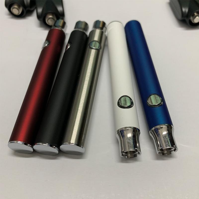 Batteria pre-riscaldamento L0 per O-pen Tank 350mAh Penna vapore 4.1-3.9-3.7v Voltaggio regolabile regolabile Lo Preriscaldamento batterie per cartuccia 510