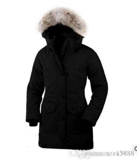 2019 vendita di marca canadese signore all'aperto neve vestito spedizione lunghe giù ricoprono il Canada del progettista di marca donne piumino