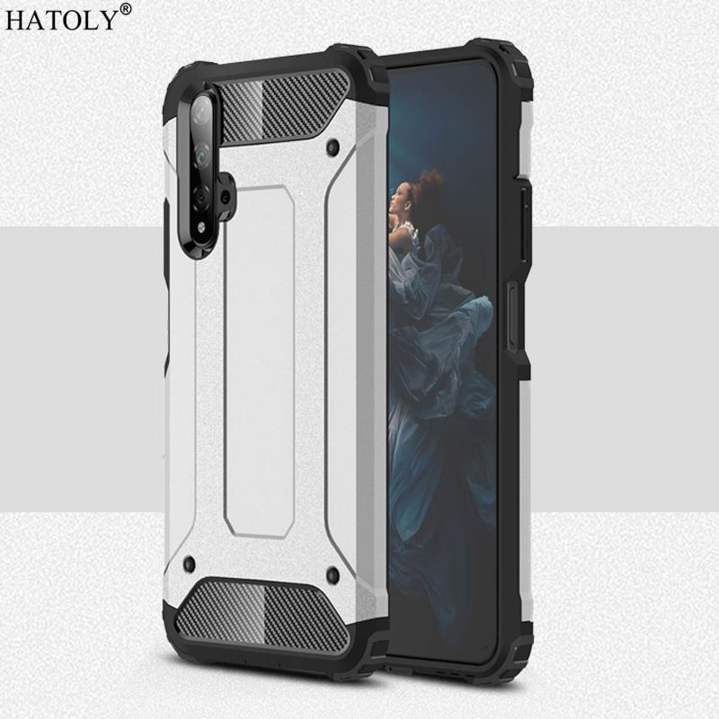 Mobile Phone Accessories Mobile Phone Cases & Covers For Cover Huawei Nova 5T Case Anti-knock Rugged Armor Hard Cover Nova 5T Silicone