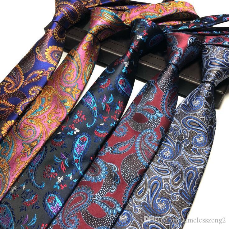 gran descuento super popular precio atractivo Compre Nuevo Diseño Para Hombre Corbata Elegante Hombre Floral Paisley  Corbatas 145 * 8 * 3.8 Cm Clásico Negocio Casual Boda Corbata A $3.23 Del  ...