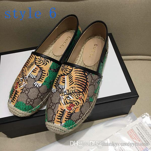 Fisherman shoes Designer Flats Loafers luxury Designer women Casual Shoes high quality Hiking Casual Shoes size 35-41
