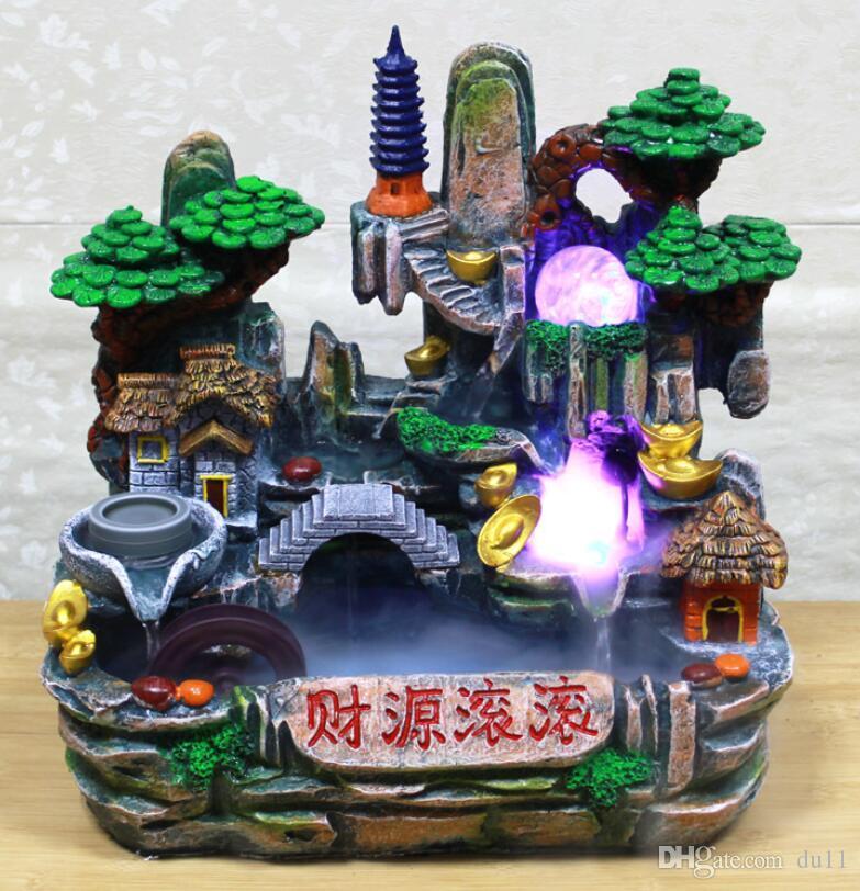 Hongru Dekorasyon Evi Akan-su servet süsler Fengshui Nemlendirici Ev Fabrika Ev Dekorasyon Doğrudan Satış Renk