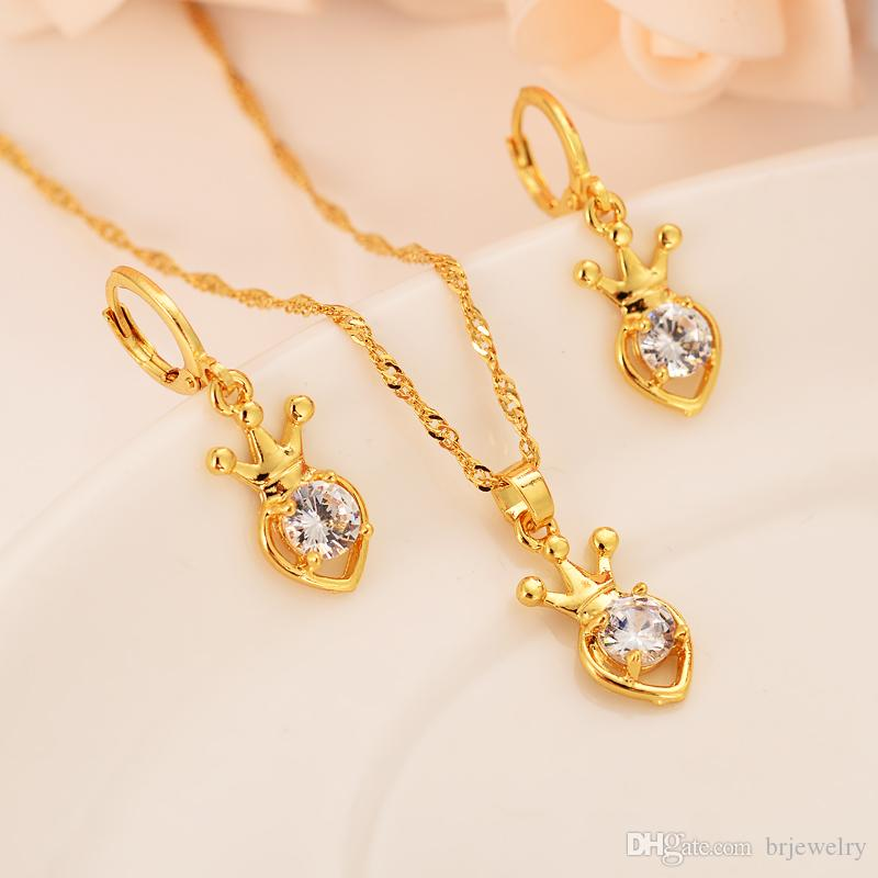 24k yellow gold pendant and earrings function jewelry square shaped pendant diamond /& gold bridesmaids gifts christmas gifts for her