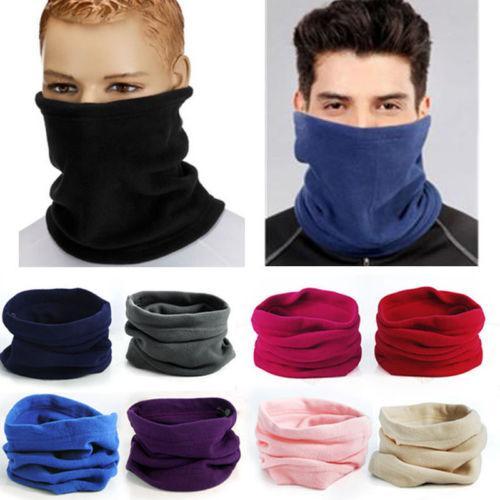 2019 New Multifuction Mask Soft Men Women Winter Warm Fleece Scarves Collar Bandanas Ski Beanie Hat