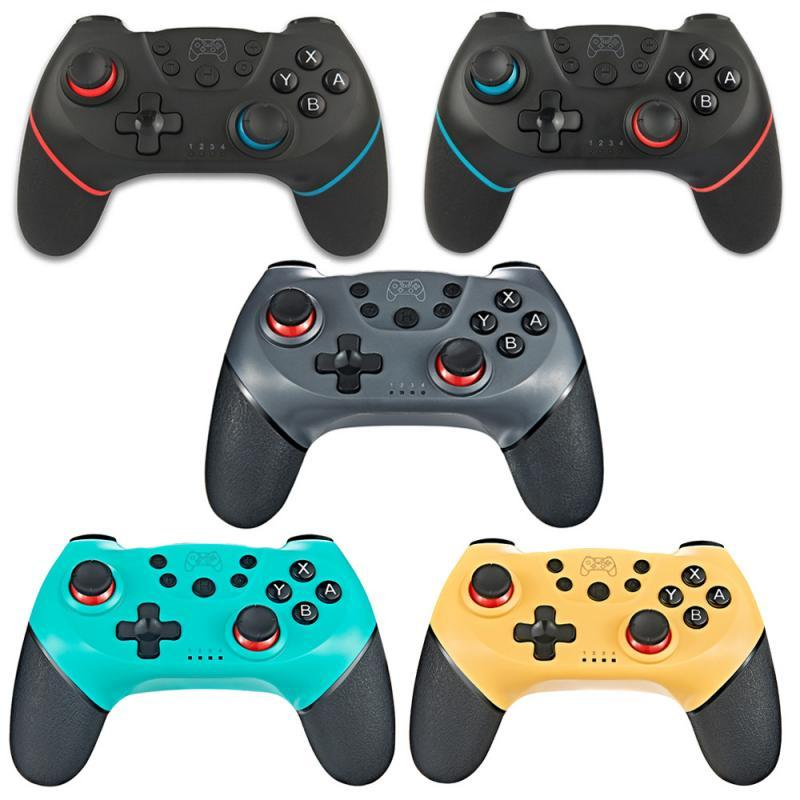 Wireless-Bluetooth Gamepad Game joystick Controller with 6-Axis Handle for Switch Pro NS-Switch Pros Gamepads Fors Switches Console