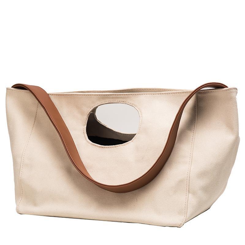 2019 New canvas Messenger Bag Women Handbag Big Ladies Shoulder for Girl Color Matching Big Fashion Casual Summer Travel Casual