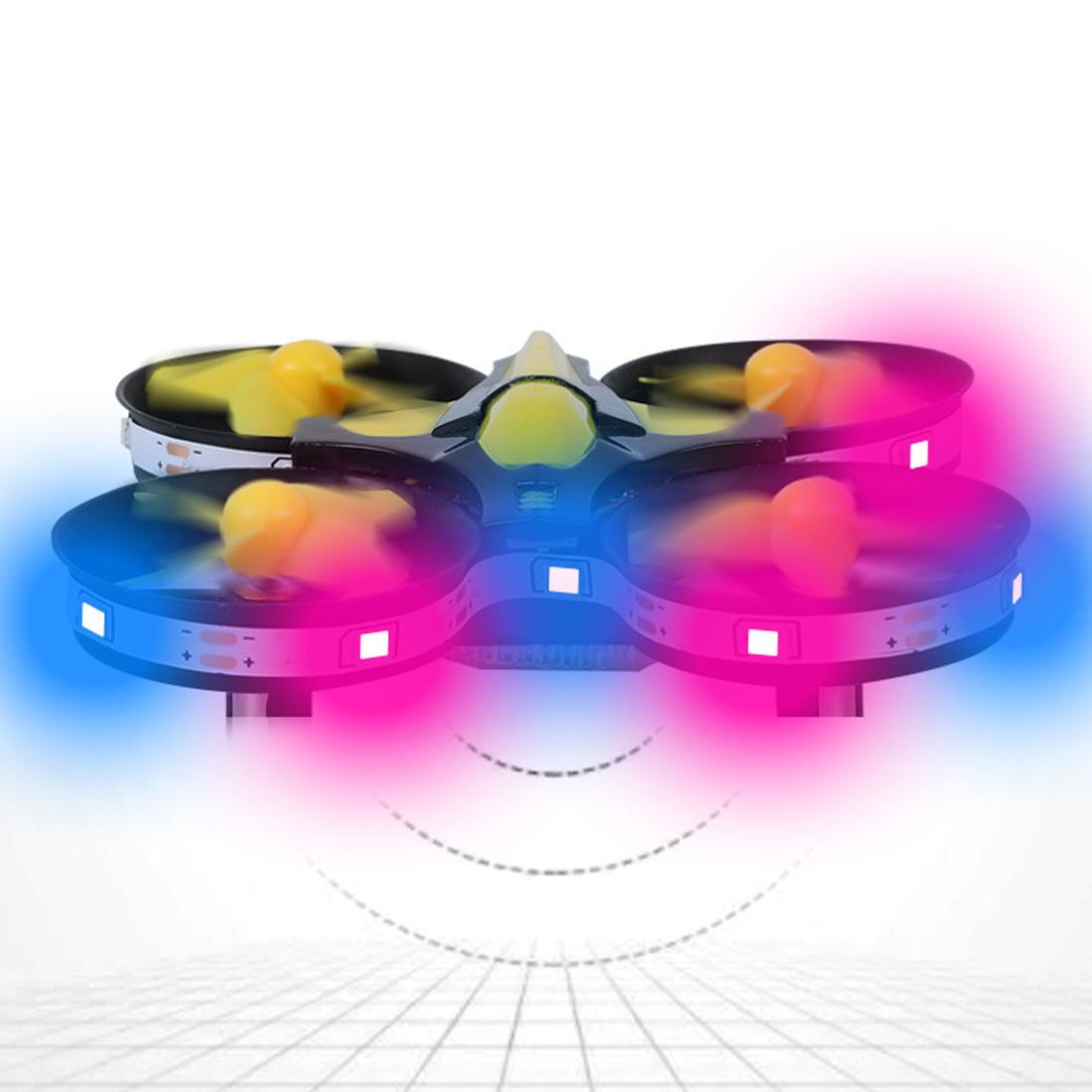 Interaktive Induction Drone Spielzeug Quadcopter LED-Licht RTF UAV Flugzeug Intelligent Uhr Fernbedienung UFO Drone-Kind-Geschenk
